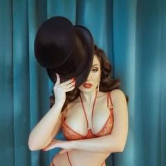 pin up lingerie girl D 223