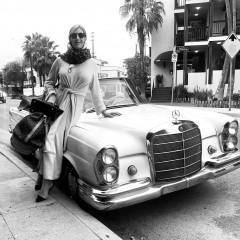 mercedes vintage girl 40001115