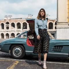 mercedes sl klassik car and girl vintage 101