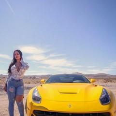 gelb auto F 1001