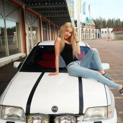 opel car girl 6001132