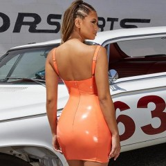 orange muscle car 661