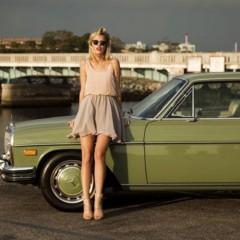 mercedes green car 598